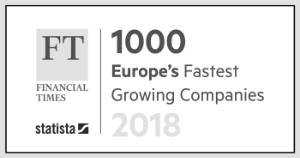 1000 Europe's Fastest Growing Companies 2018